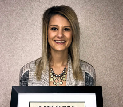 Brooke Daum is KHS Employee of the Year